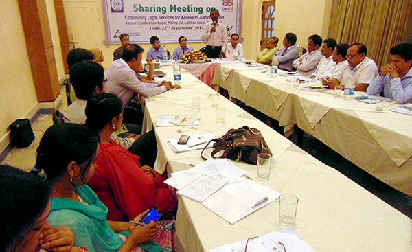 """BLAST-YPSA Consortium organized a sharing meeting on """"Community Legal Services for Access to Justice"""" project"""