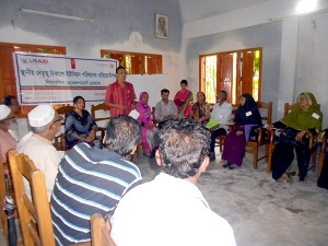 UP orientation workshop at Ramu
