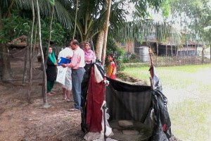 Household survey at Bodamajir gona, Ward no 9, Barabakia Union