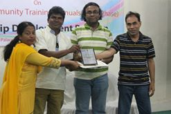 Award giving ceremony