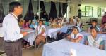Peer Education session