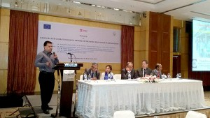 """Chief Executive of YPSA Md. Arifur Rahman presented """"Environment and Livelihood Security"""" issues at Technical Session ii: Climate Change and Inclusive Growth."""