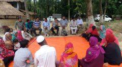 EU Team viait at Saplapur federation