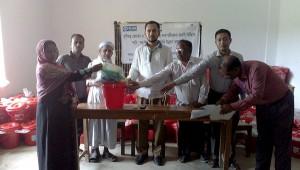 Distribution at Barbakia union of Ramu