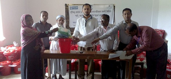 Distribution at Barbakia union of Pekua