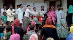 Distribution at Mognam union of Pekua