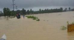 Flood affected area of Ramu Upazila in Cox's bazaar