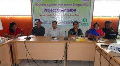 Project Orientation of YPSA-Oxfam Response project at Conference Room of Hotel Media International in Cox's bazar