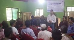 Union Inception meeting at GhumDhum union of Naikkhanchari Upazila