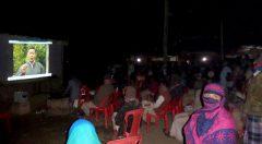 Video show at Nariccha FDG, Chunati.