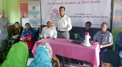 YPSA–KrisEnergy Healthcare Campaign held at Comilla