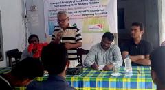 Inaugural of vocational training for working children in hazardous job