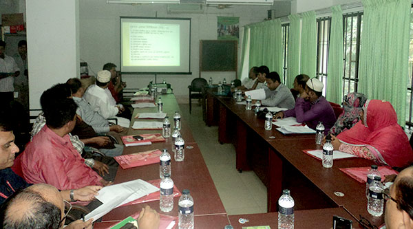 """meeting on """"Implementation of TC law in Laxmipur"""" by the civil surgeon office Laxmipur and supported YPSA"""