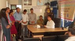 Memorandum giving ceremony