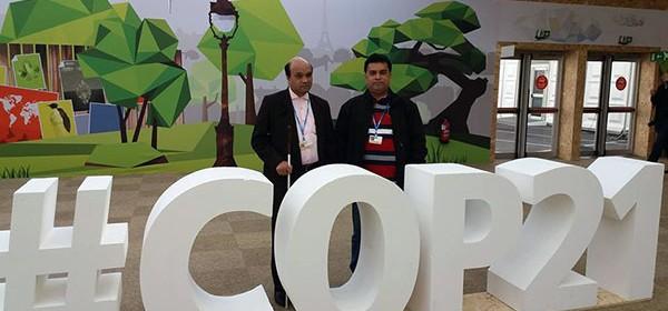 YPSA Team at UNFCCC COP21