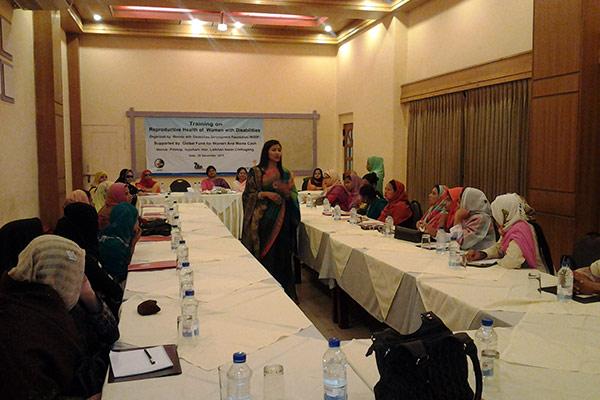 Training workshop facilitated by Farhana Iddris, YPSA