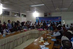 Discussion meeting International Migrants Day 2015 at Cox'sbazar