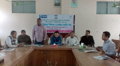 project closing meeting of Emergency WASH support to the people South-East flood and Cyclone KOMEN held