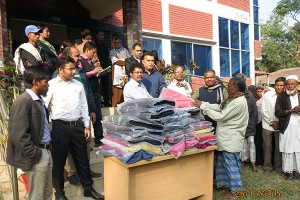 YPSA with support from BSRM distributes 300 warm blankets to the poor