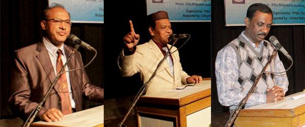 Speakers of the program