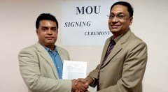 MOU has been signed by Md. Arifur Rahman, Chief Executive of YPSA and Prof. Dr. G.U. Ahsan, Dean, School of Health and Life Sciences and Chairman, Department of Public Health, North South University