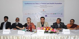 """Md. Arifur Rahman, Chief Executive of YPSA attends as a panelist at the session """"Inclusive Development"""" in the conference."""
