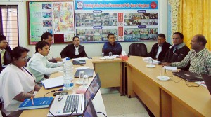 monthly staff coordination meeting