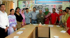 Country Director of EngenderHealth Bangladesh Dr. Abu Jamil Faisel visits YPSA