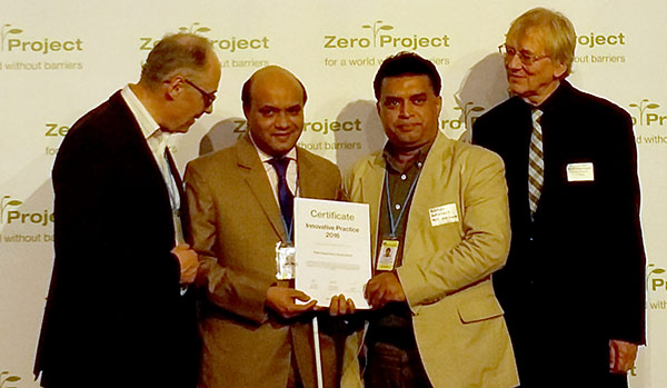 YPSA (Young Power in Social Action) was selected as one of Innovative Practices by the Zero Project's selection committee of renowned disability and accessibility experts.