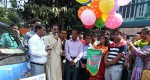 Mayor of Chittagong City Corporation inaugurated the road show