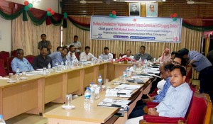 """Divisional consultation on """"Implementation of Tobacco control Law in Chittagong division"""" arranged by Chittagong Divisional Commissioner Office an initiated by YPSA"""