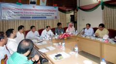 "Divisional consultation on ""Implementation of Tobacco control Law in Chittagong division"" arranged by Chittagong Divisional Commissioner Office an initiated by YPSA"
