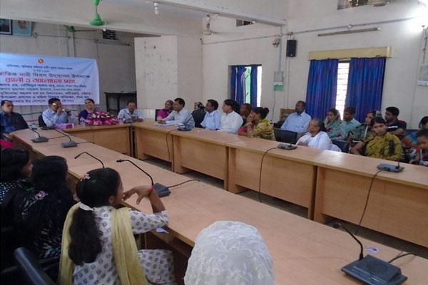 Discussion meeting at Fatikchari