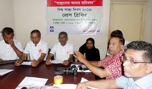 Press Breefing with local jurnalists