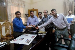 Memorandum handover to Chittagong DC Office