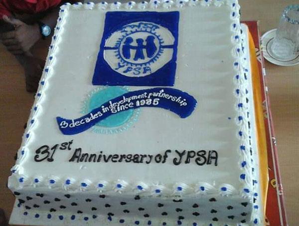 YPSA Anniversary Cake