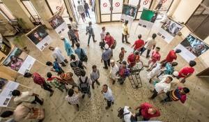 Photo exhibition at Chittagong Railway Station