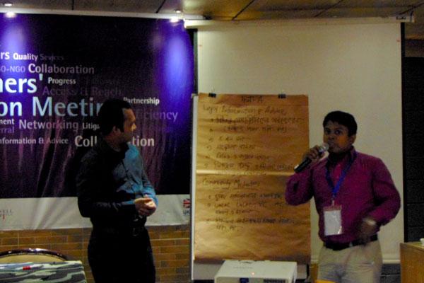 Presentation by Abdus Sabur, Project Coordinator, CLS, YPSA
