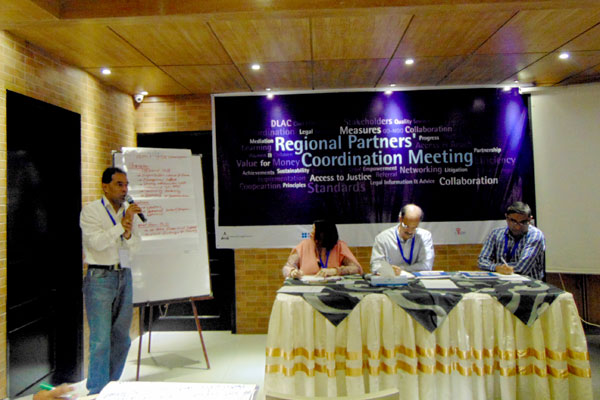 Md. Mahabubur Rahman, Director (SDP), YPSA gave a presentation on YPSA-CLS Sustainability session 2