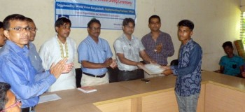 Vocational training certificate giving ceremony