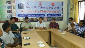 Discussion meeting at YPSA head office, Chittagong