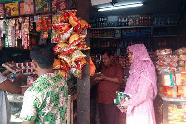 Mobile court fined a shopkeeper