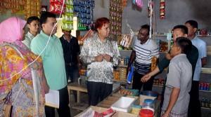 Grocery shop visit