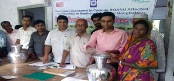 Cash money and Non Food Item distribution