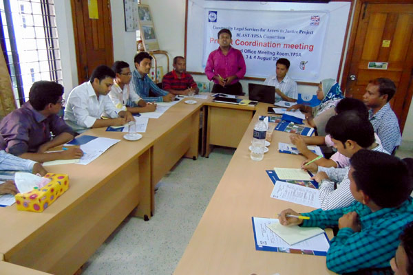 Program Coordinator sharing the meeting objectives and expected outcome of this coordination meeting