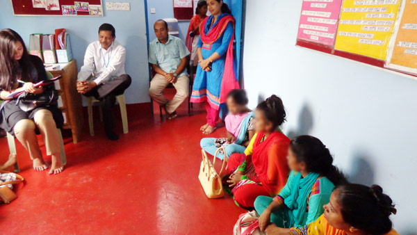 Mr. Dr. M Ziya Uddin, HIV/AIDS Specialist & Ms. Smirti Biswas, United Nations Volunteer of UNICEF visited the YPSA