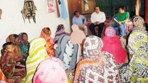 Abdullah Al Jubayer visits the YPSA-CEEPI project's activities in Sitakund & Mirsharai Upazilla of Chittagong