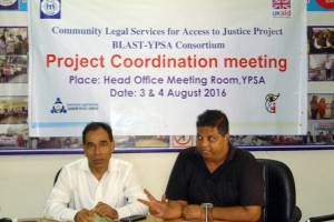 Md. Mahabubur Rahman, Director (Social Development) and Palash Chowdhury, Director (Finance) sharing several significance issues on program betterment and future direction.