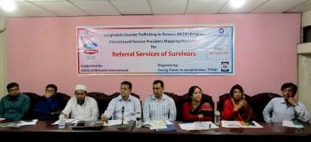 YPSA-BCTIP workshop at Chittagong Press Club