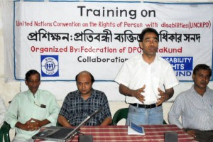 Training workshop on UNCRPD